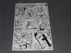 Marvel Original Comic Page. Fantastic Four #187.