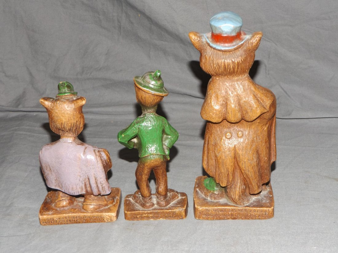 (7) 1940's Disney Syrocco Wooden Figurines - 6