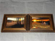 Thomas Kerry, Lot of 2 Small Oil Paintings