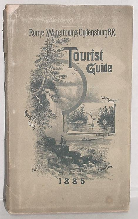 3: RAILROAD TOURIST GUIDE. 1885.