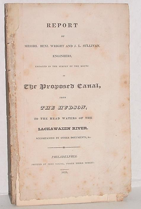 11: RARE. REPORT OF THE PROPOSED CANAL.