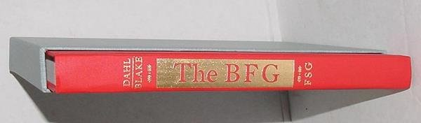 13: ROALD DAHL. THE BFG. LIMITED SIGNED.