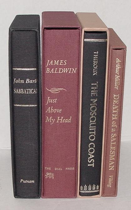 15: LITERATURE. LOT OF 4 LIMITED EDITIONS.
