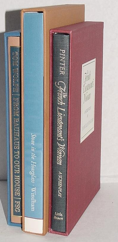 16: LITERATURE. LOT OF 3 LIMITED EDITIONS