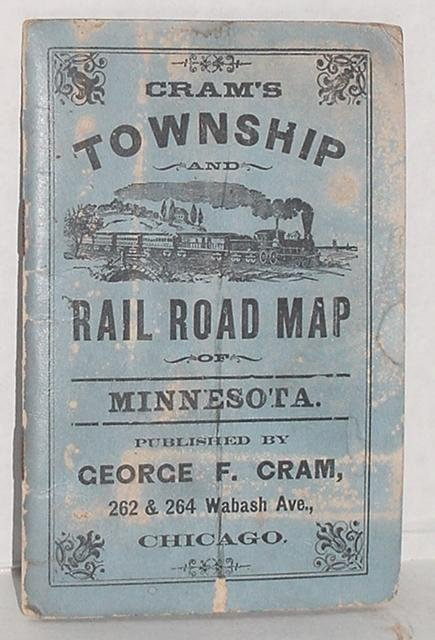 19: GEORGE F. CRAM. TOWNSHIP AND RAILROAD MAP