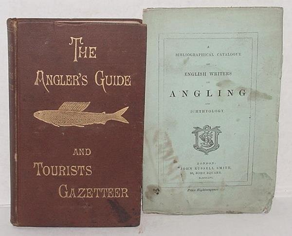 22: LOT OF 2 BOOKS ON ANGLING.