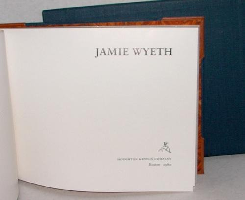 23: JAMIE WYETH. SIGNED LIMITED EDITION.