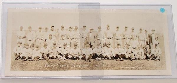369: ESTATE OF PAUL KRICHELL. YANKEE TEAM PHOTO.