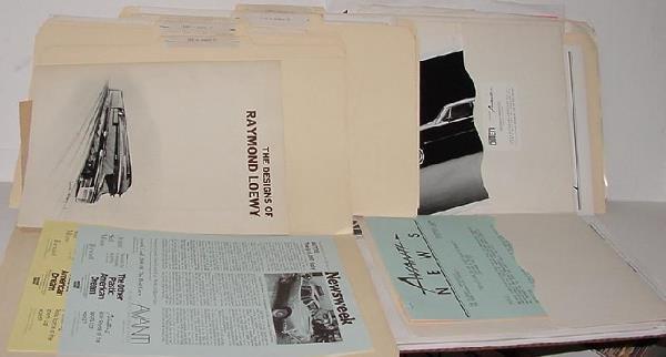 1012: TOM BONSALL ARCHIVE - AUTOMOTIVE LITERATURE