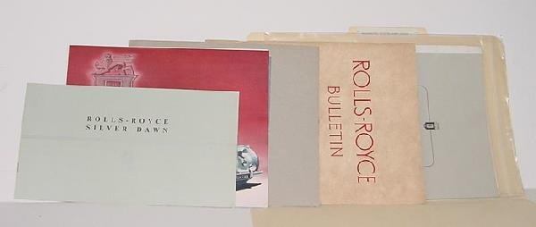 1015: TOM BONSALL ARCHIVE - AUTOMOTIVE LITERATURE