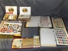 World Wide Estate Stamp Lot.