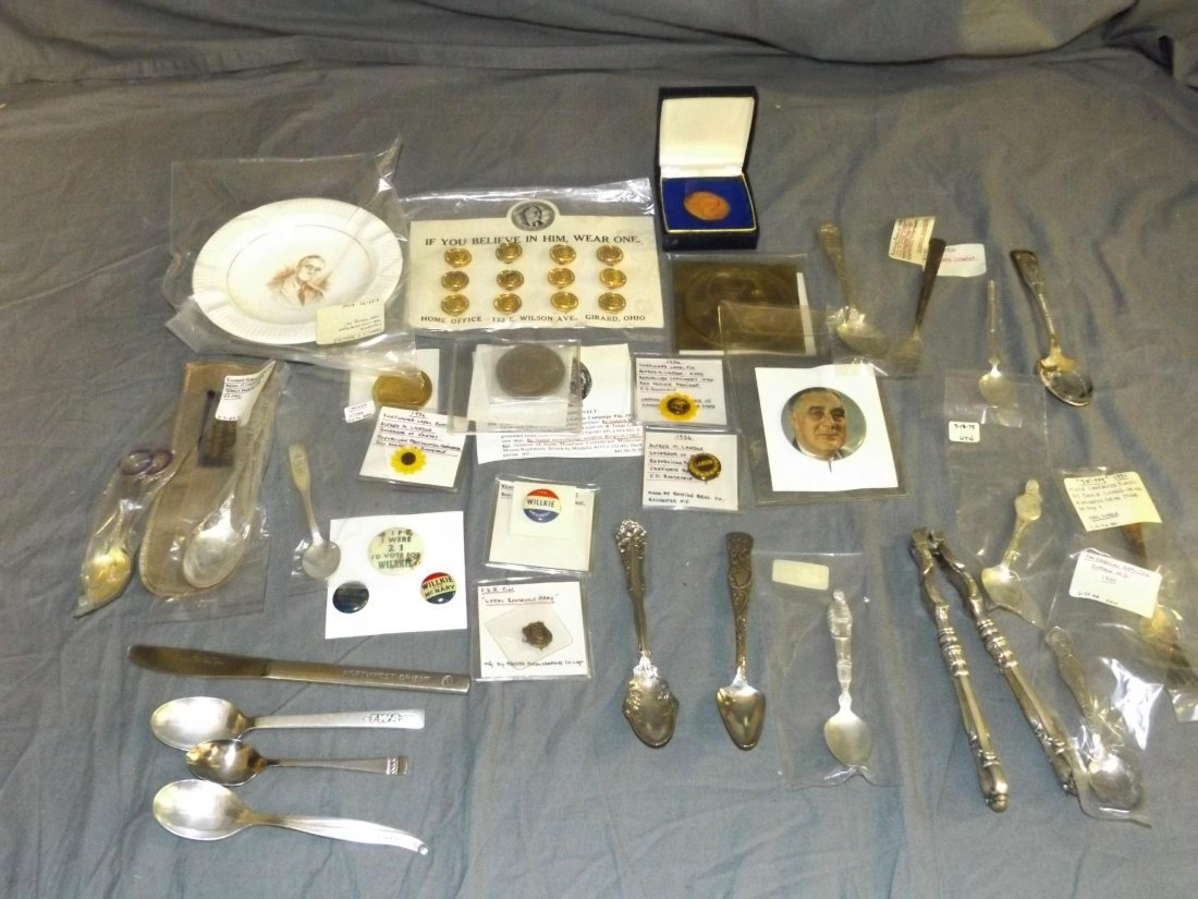 Mixed Lot. Includes Spoons & FDR.
