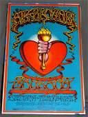 1968 Big Brother Holding Co BG136 Concert Poster