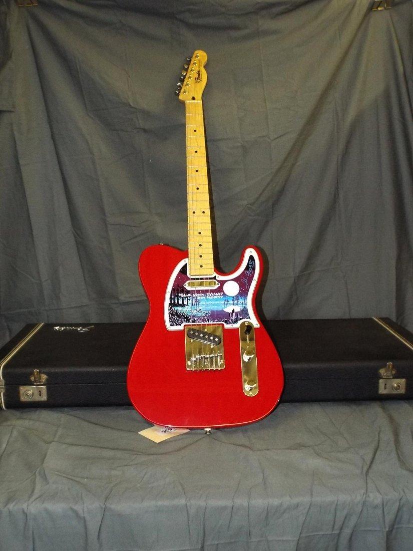 fogerty autographed fender telecaster guitar