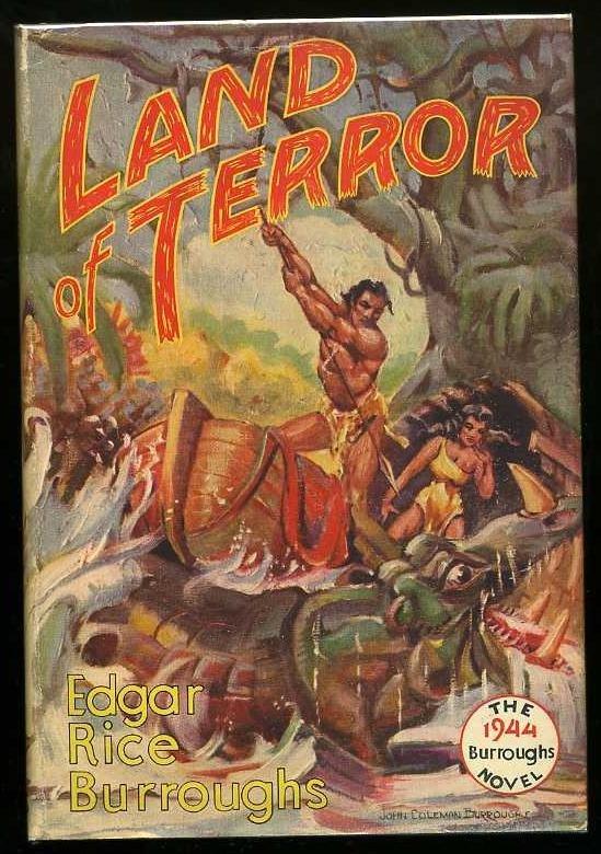 2010: BURROUGHS. LAND OF TERROR.