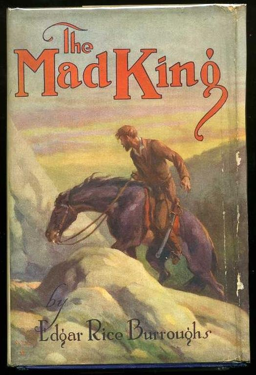 2012: BURROUGHS. THE MAD KING. 1ST.