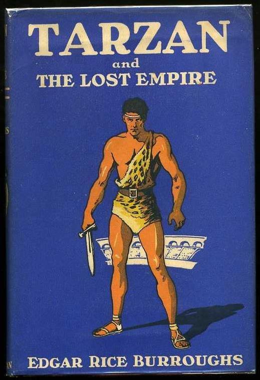 2015: BURROUGHS. TARZAN & THE LOST EMPIRE.