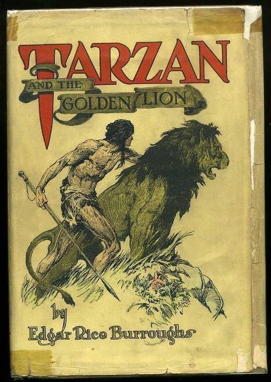 2016: BURROUGHS. TARZAN AND THE GOLDEN LION.