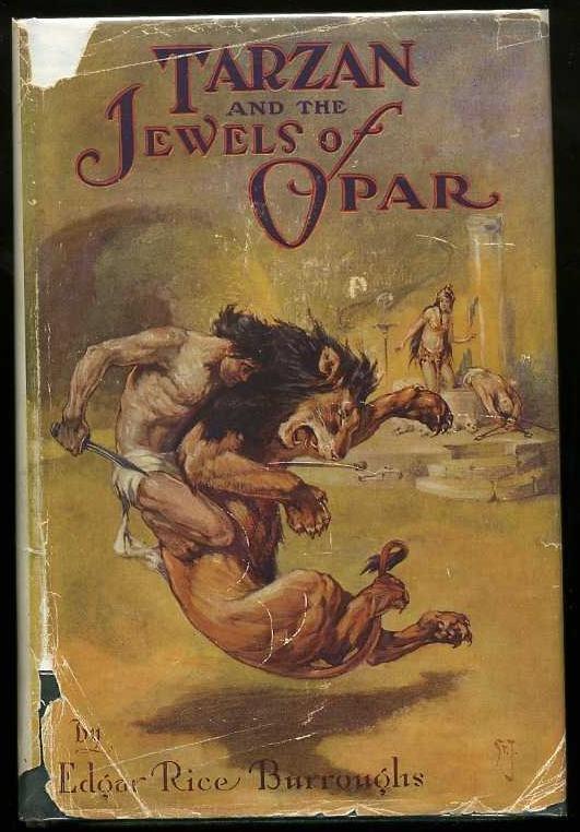 2017: BURROUGHS. TARZAN & JEWEL OF OPAR.