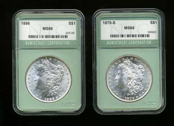 4003: COINS. MORGAN DOLLARS.