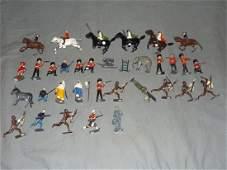 Mixed Die Cast Figure Lot