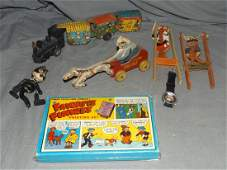 Lot of Miscellaneous Character Toys