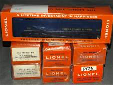 Lot of 6 Lionel Freight Cars  Alco Diesel