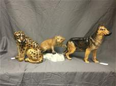 Doulton and Beswick Figurines. Lot of 3