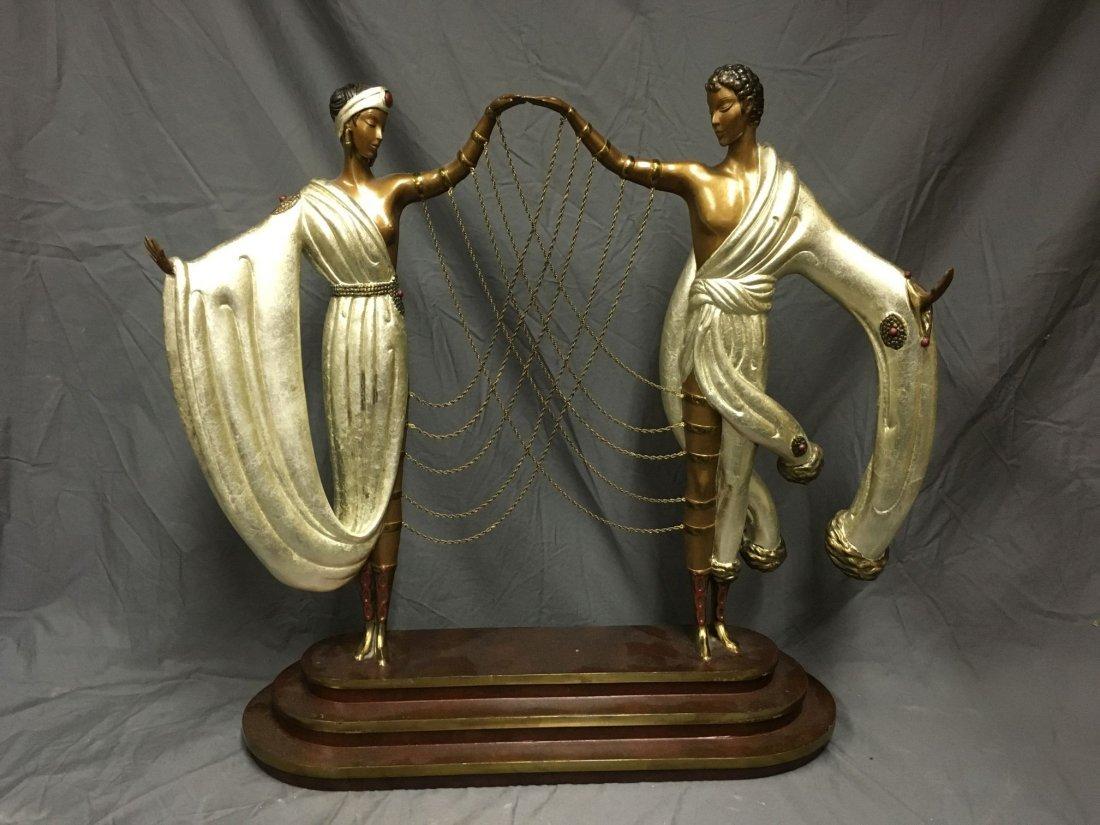 "Erte ""The Wedding"" Limited Ed Bronze Sculpture"