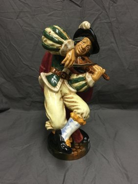 Royal Doulton Figurine. The Fiddler.
