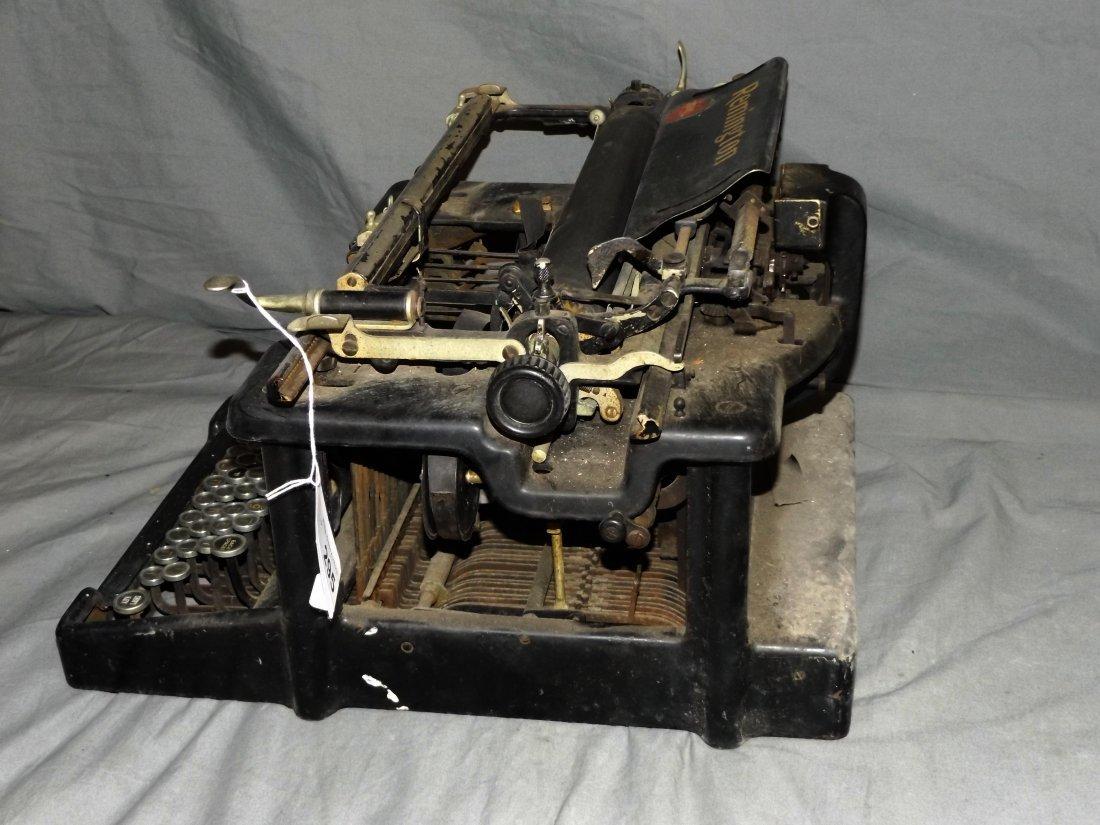 Remington Hebrew Typewriter, Early 20th Century - 5