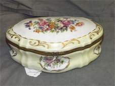 Limoges Porcelain Hinged Box