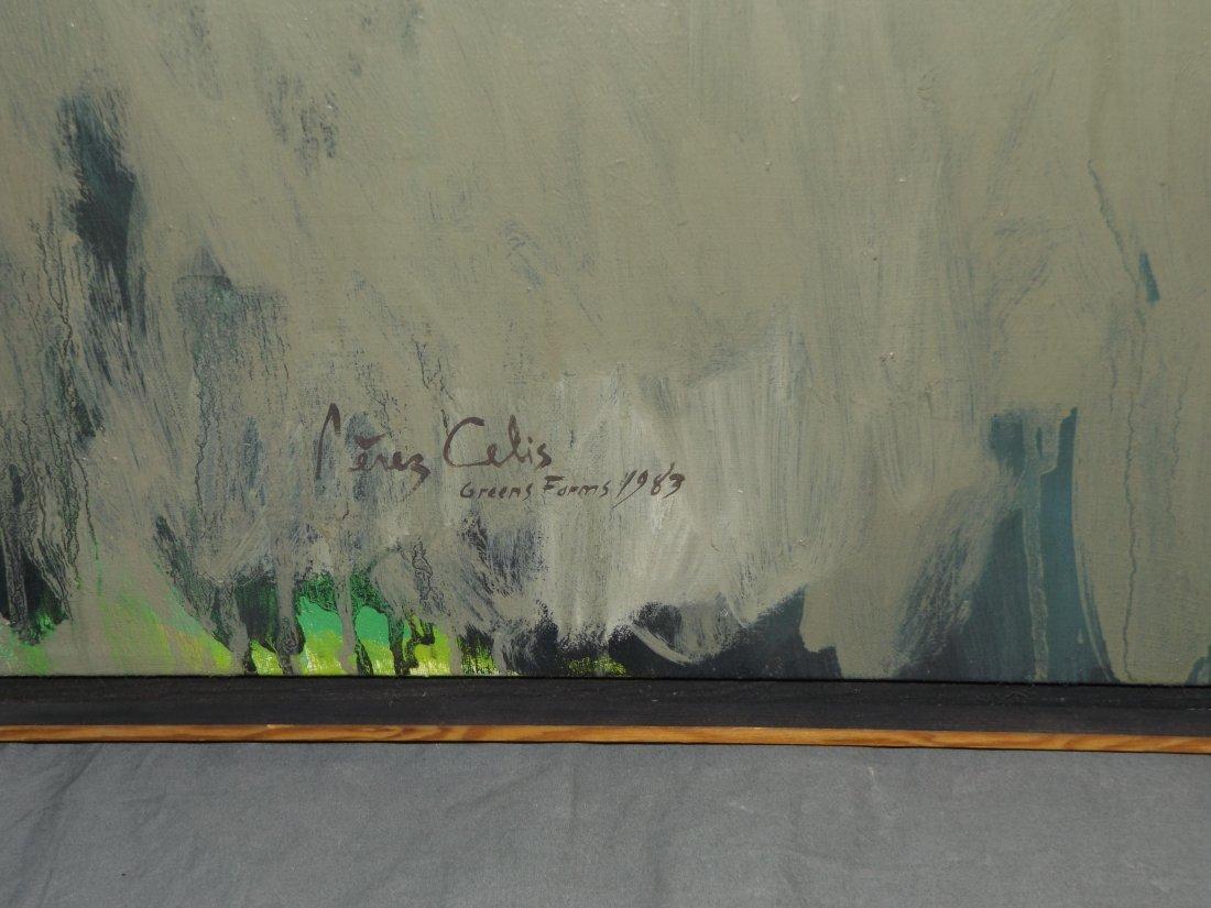 Perez Celis  (1939 - 2008) Green Farm. - 4