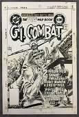 Joe Kubert. G.I. Combat Original Cover Art #253