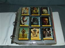 Complete Sets of Star Wars Trading Cards/Stickers