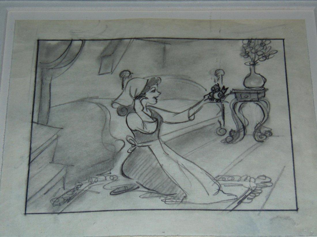 Disney. Cinderella. Storyboard.