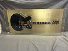 B.B. King Signed Gibson Lucille Guitar