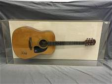 John Mellencamp Signed Gibson Epiphone Guitar