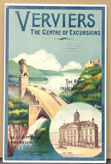 1004: TRAVEL POSTER. VERVIERS.