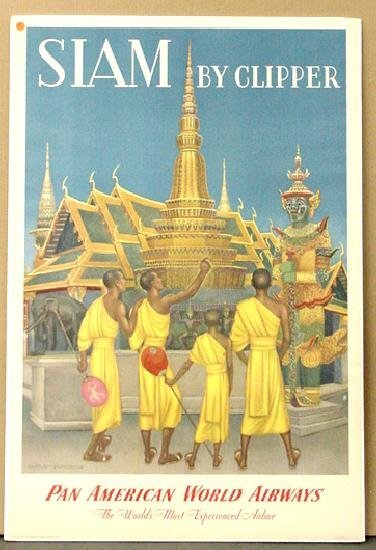 1008: TRAVEL POSTER. SIAM
