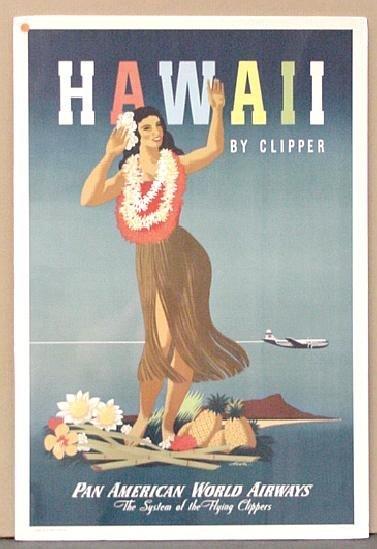 1011: TRAVEL POSTER. HAWAII