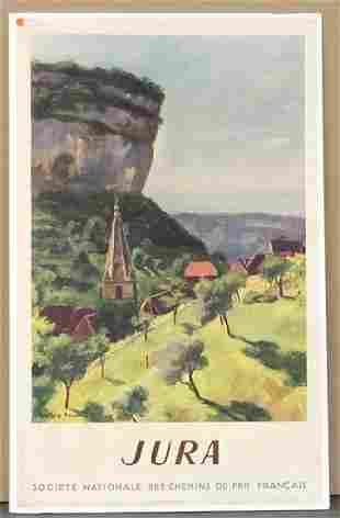 TRAVEL POSTER. JURA 1947