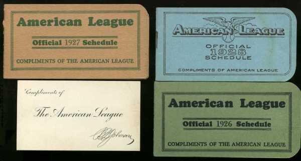 18: COLLECTION AMERICAN LEAGUE BASEBALL PASSES.