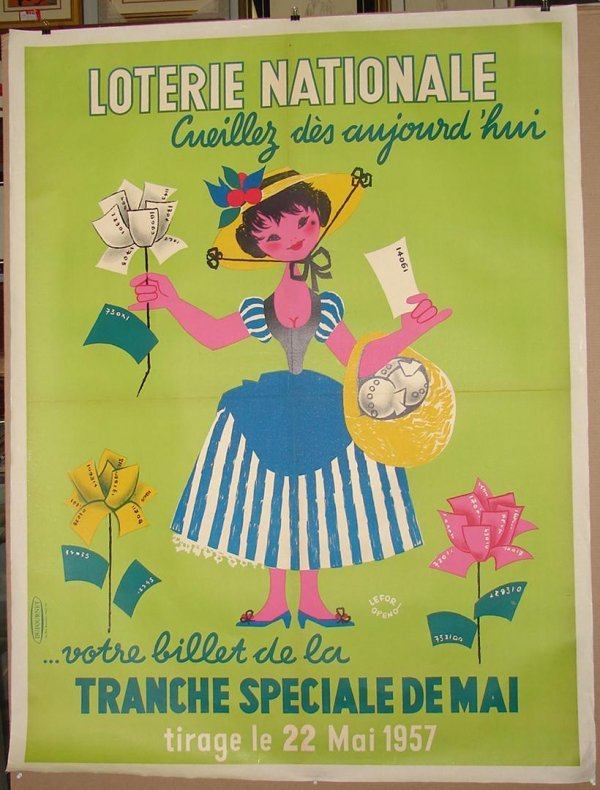 1007: POSTER. LOTIRE NATIONAL.