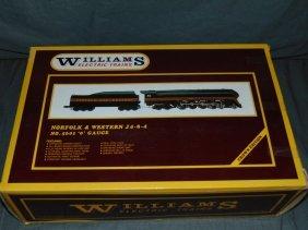 Williams #5601 Norfolk & Western J 4-8-4
