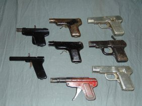 Lot Of Assorted Projectiletoy Guns