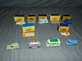 Lot Of 11 Vintage Matchbox Vehicles