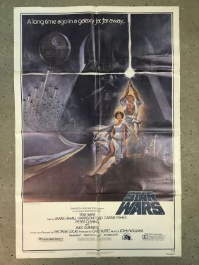 Star Wars 1977 Style A One Sheet Poster