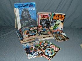 Star Wars & Sci-fi Magazines, Comics, Poster Books