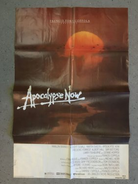 Apocalypse Now 1979 Advance One Sheet Poster
